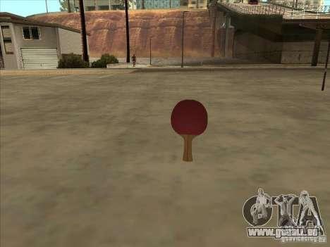 Tennisschläger für GTA San Andreas