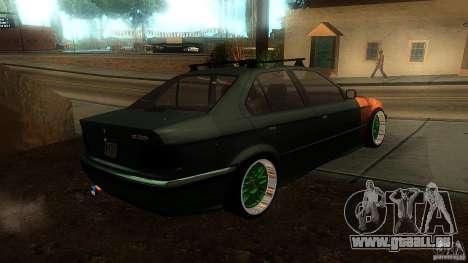 BMW E36 Daily pour GTA San Andreas laissé vue