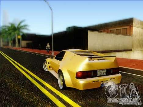 Diablo-Seven pour GTA San Andreas laissé vue