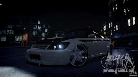 Sultan RS 3.0 pour GTA 4 vue de dessus