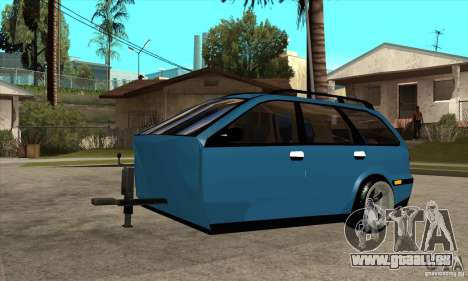 Remorque pour la Volvo V40 pour GTA San Andreas