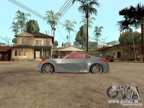 Nissan 350Z Virgo pour GTA San Andreas laissé vue