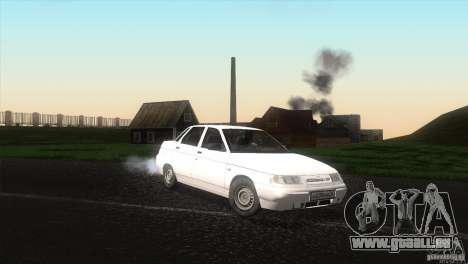 VAZ 2110 Drain für GTA San Andreas rechten Ansicht