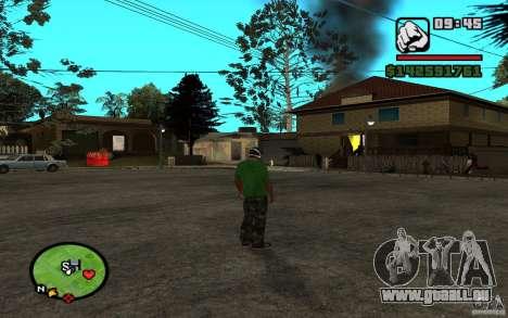 New Grove-Street pour GTA San Andreas troisième écran