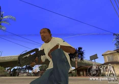 Famas-F1 pour GTA San Andreas deuxième écran