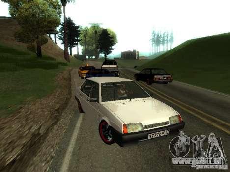 VAZ 21099 c. 2 pour GTA San Andreas