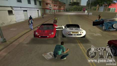 Lotus Elise für GTA Vice City rechten Ansicht