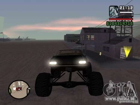 Monster Tampa pour GTA San Andreas