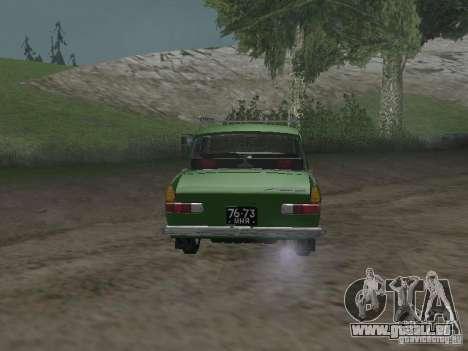 IZH 412 v3. 0 für GTA San Andreas rechten Ansicht