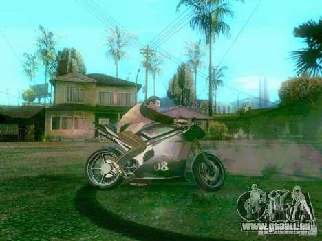NEW NRG-500 pour GTA San Andreas vue de droite