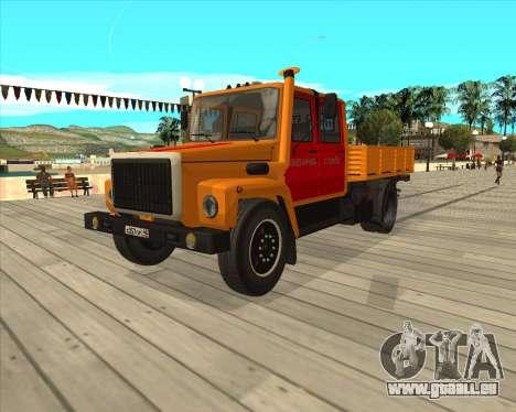 GAZ 3309-Warnblinkanlage für GTA San Andreas