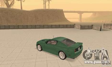 Saleen S281 v2 pour GTA San Andreas vue intérieure