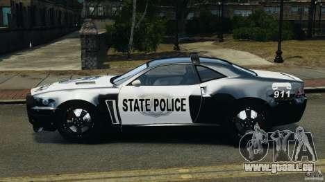 NFSOL State Police Car pour GTA 4 est une gauche