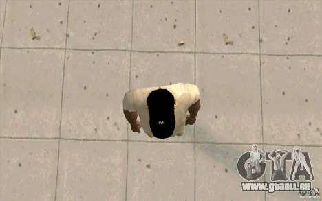Cap newyorkyankiys noir pour GTA San Andreas troisième écran