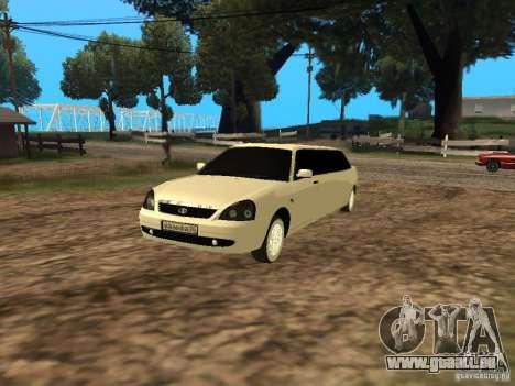 LADA Priora 2170 Limousine pour GTA San Andreas