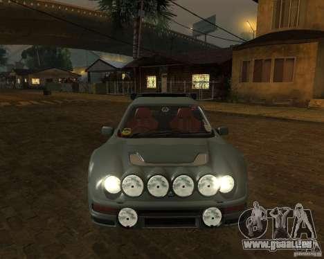 Ford RS 200 pour GTA San Andreas vue arrière