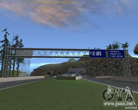 Road Signs v1. 1 für GTA San Andreas fünften Screenshot