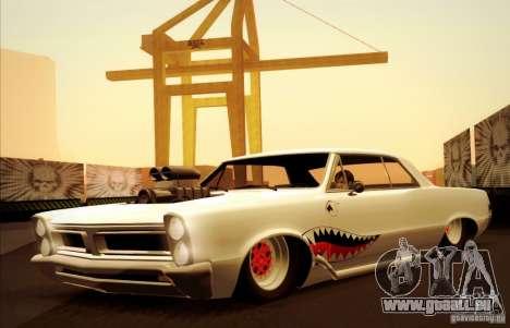 Pontiac GTO Drag Shark für GTA San Andreas Seitenansicht