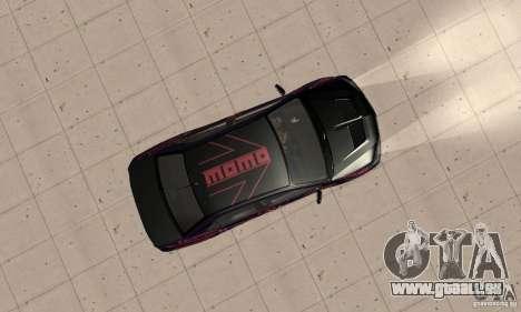 Mitsubishi Lancer Evo 8 Tuning pour GTA San Andreas vue de droite