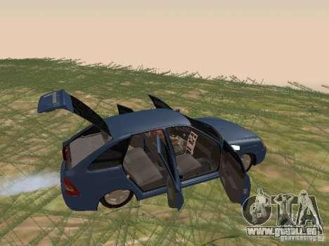 LADA 2170 Schrägheck für GTA San Andreas Rückansicht