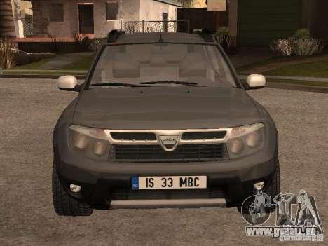 Dacia Duster pour GTA San Andreas laissé vue