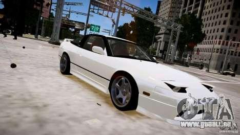 Nissan 240SX Drift für GTA 4 Rückansicht