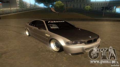 BMW E46 M3 Coupe 2004M für GTA San Andreas