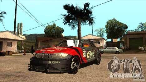 BMW 135i Coupe GP Edition Skin 2 pour GTA San Andreas