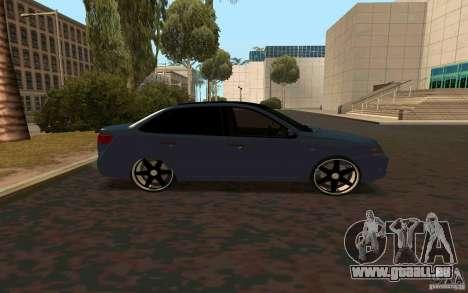 Lada Granta TUNING pour GTA San Andreas laissé vue
