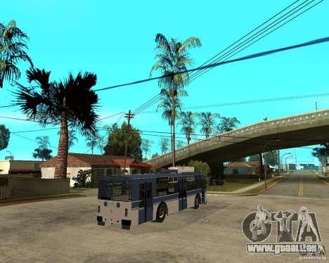 ZiU 52642 für GTA San Andreas zurück linke Ansicht
