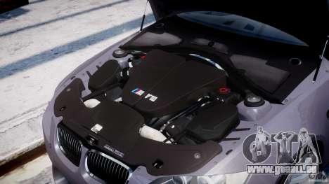 BMW M3 E92 stock pour GTA 4 est un côté