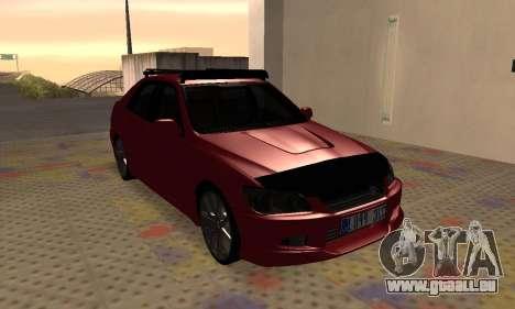 Lexus IS300 für GTA San Andreas Innenansicht