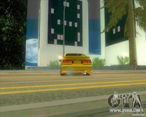 Ae86 tuned by Xavier für GTA San Andreas rechten Ansicht