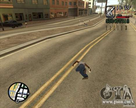 Endorphin Mod v.3 für GTA San Andreas elften Screenshot