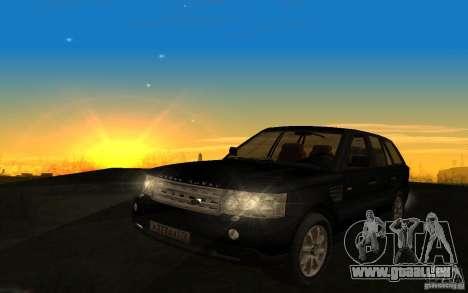 Land Rover Range Rover pour GTA San Andreas