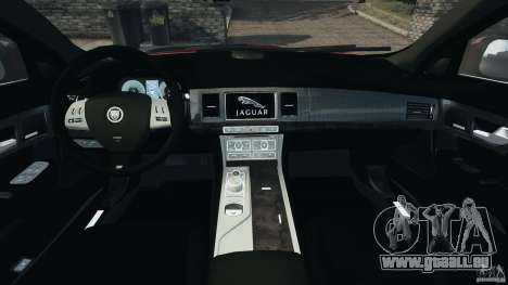 Jaguar XFR 2010 v2.0 für GTA 4 Rückansicht