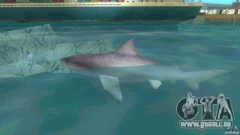 Shark Boat für GTA Vice City linke Ansicht