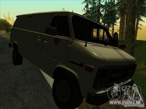 GMC Vandura C1500 für GTA San Andreas