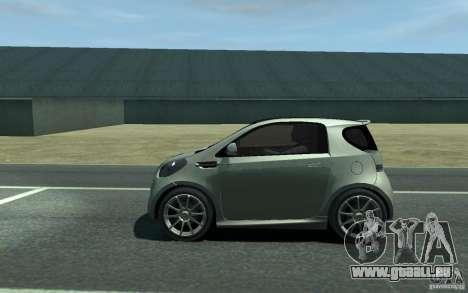 Aston Martin Cygnet 2011 pour GTA 4 est une gauche