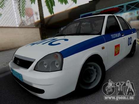 LADA 2170 DPS für GTA San Andreas