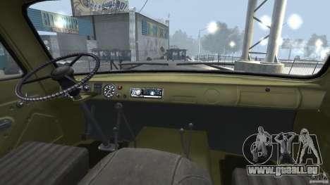 UAZ 451DM pour GTA 4 est un côté