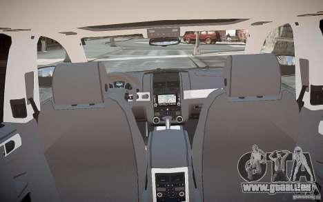 Volkswagen Touareg R50 für GTA 4 Unteransicht