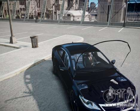 Volkswagen Passat CC pour GTA 4 est un côté