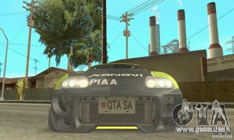 Toyota Supra Tunable 2 für GTA San Andreas Räder