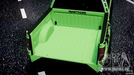 Ford F150 Racing Raptor XT 2011 pour GTA 4 roues