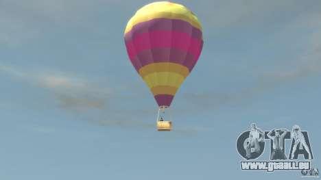 Balloon Tours option 9 für GTA 4 linke Ansicht