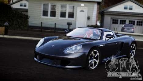 Porsche Carrera GT V1.1 [EPM] pour GTA 4 Vue arrière de la gauche