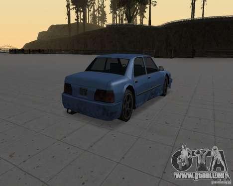Machines sans saleté pour GTA San Andreas deuxième écran