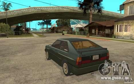 Audi Quattro für GTA San Andreas zurück linke Ansicht