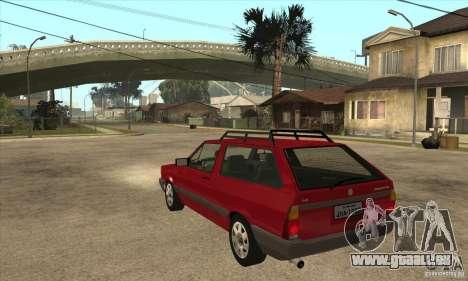 VW Parati GL 1994 pour GTA San Andreas sur la vue arrière gauche